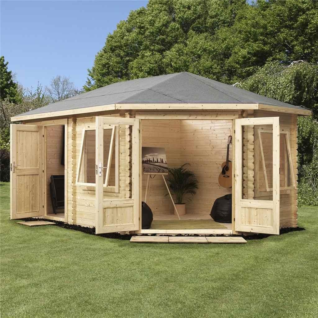 oxford log cabins 5m x 3m ohio. Black Bedroom Furniture Sets. Home Design Ideas