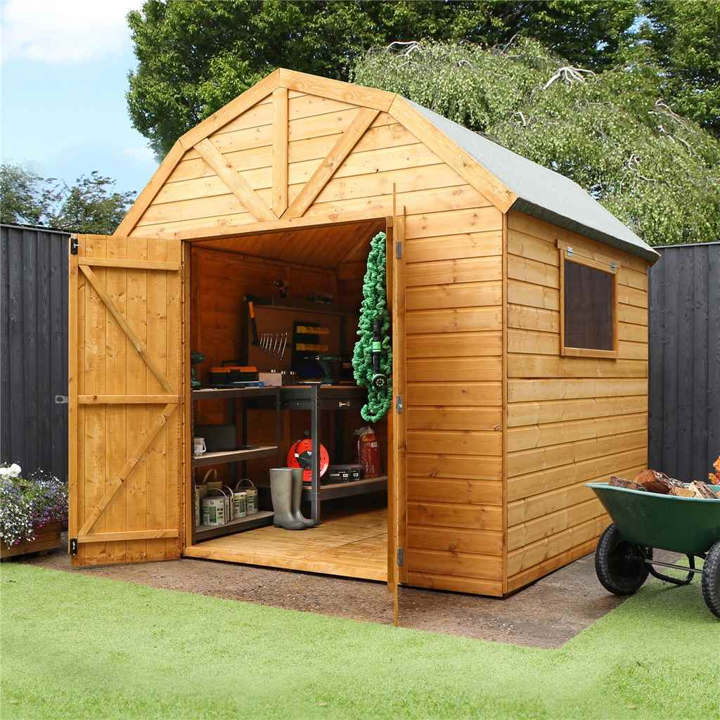 Shedswarehouse Com Oxford Workshops 8ft X 8ft 2 4m X