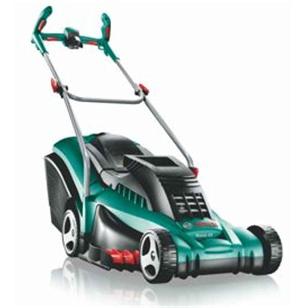 bosch bosch rotak 43 lithium ion 36v ergoflex cordless rotary mower. Black Bedroom Furniture Sets. Home Design Ideas