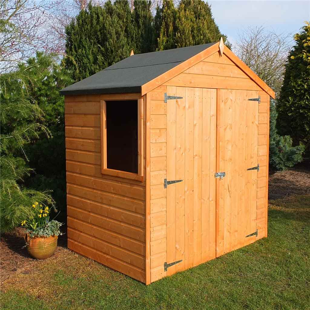 click to enlarge - Garden Sheds 6ft By 4ft