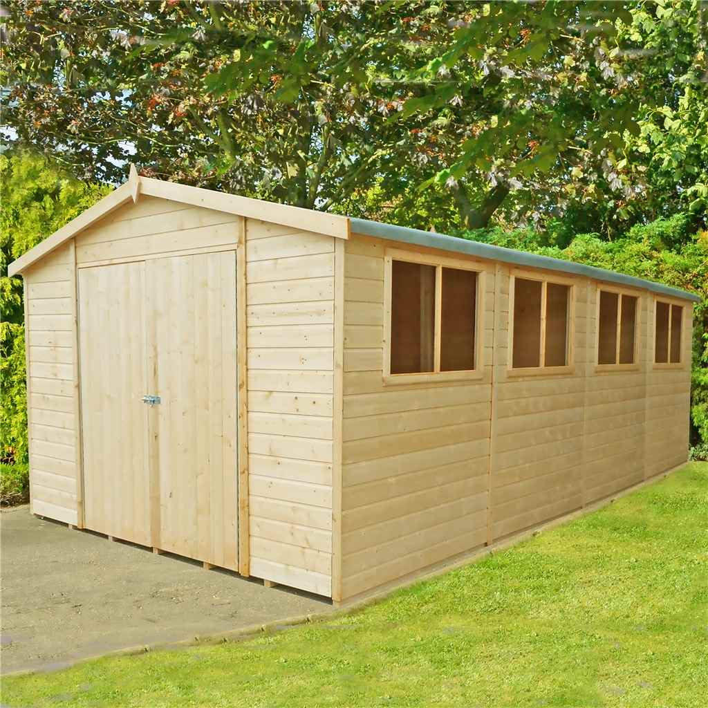 20ft x 10ft stowe tongue groove garden shed workshop 12mm tongue - Garden Sheds Queanbeyan
