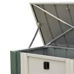 4ft x 2ft Rowlinson Green Metal Storette (1390mm x 770mm)
