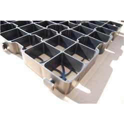 Plastic Ecobase 8ft x 8ft (25 Grids)