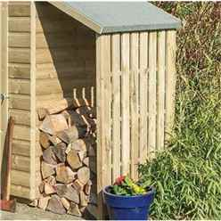 4ft x 3ft Oxford Shed with Lean To