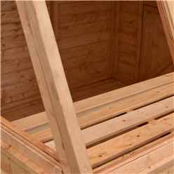 8ft x 8ft  (2.39m x 2.39m) - Tongue And Groove - Potting Shed - Opening Side Door (CORE)