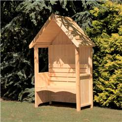 4ft x 2ft Stowe Seat Arbour