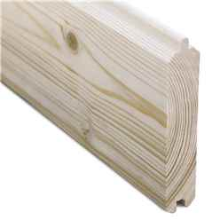 4.4m x 3.4m Sanctuary Pent Log Cabin - 28mm Wall Thickness (14ft x 11ft)