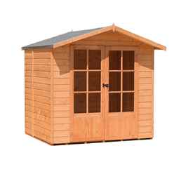 7ft x 5ft Premier Wooden Summerhouse (12mm Tongue And Groove Floor) (CORE)