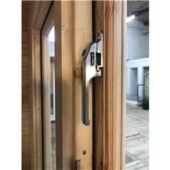 INSTALLED 4.8m x 5m Premier Home Office Apex Log Cabin (Single Glazing) - Free Floor & Felt (34mm) - INSTALLATION INCLUDED
