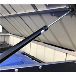 5ft x 3ft Premier EasyFix – Pent – Double Bin Store -Anthracite Grey (1.74m x 1.01m)