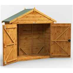 6ft x 2ft  Premium Tongue and Groove Apex Bike Shed - 12mm Tongue and Groove Floor and Roof