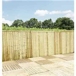 5FT (1.52m) Vertical Pressure Treated 12mm Tongue & Groove Fence Panel - 1 Panel Only (Min Order 3 Panels) + Free Delivery*