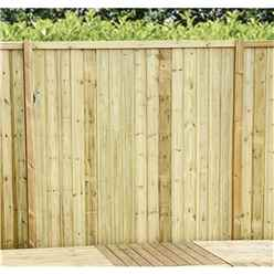 4FT (1.22m) Vertical Pressure Treated 12mm Tongue & Groove Fence Panel - 1 Panel Only (Min Order 3 Panels) + Free Delivery*