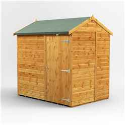 7ft x 5ft Premium Tongue And Groove Apex Shed - Single Door - Windowless- 12mm Tongue And Groove Floor And Roof