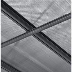 20ft x 16ft Aluminium Dual Curved Carport