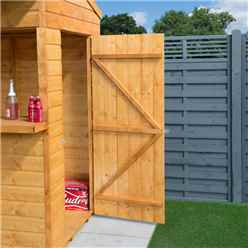 Apex Garden Bar And Store (12mm Tongue and Groove Floor)