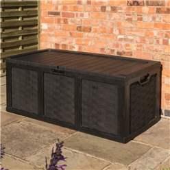2.5 x 5.2 Plastic Graphite Cushion Storage Box (634 Litres)