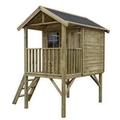 6.2ft x 6.6ft Lookout Playhouse (2.05m X 1.89m)