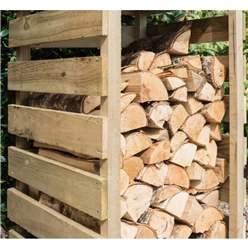 Narrow Pressure Treated Log Store