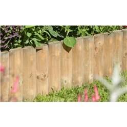 Pressure Treated 6″ Border Fence 1.0m (2 pack)