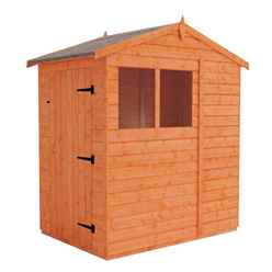 4ft x 6ft Tongue and Groove Apex Shed (12mm Tongue and Groove Floor and Apex Roof)
