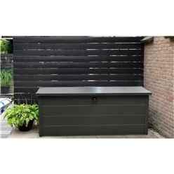 5.4ft x 2.3ft Heavy Duty Storage Box - Anthracite Grey
