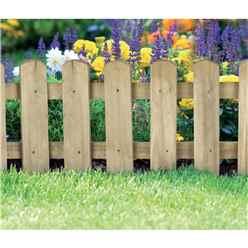 Picket Border Fence (4 pack)