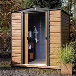 6ft x 5ft Woodvale Metal Shed (1940mm x 1510mm)