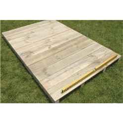6ft x 5ft Easyfix Timber Floor Kit (Apex)
