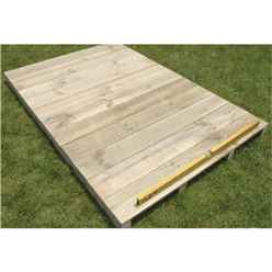 Timber Floor Kit 8ft x 5ft (Madrid) - Apex
