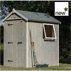 Deluxe 6ft x 4ft Heritage Shed