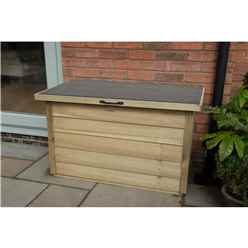 Pressure Treated Overlap Garden Storage Box (108cm x 55cm)
