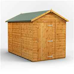 10ft x 6ft Premium Tongue and Groove Apex Shed - Single Door - Windowless - 12mm Tongue and Groove Floor and Roof