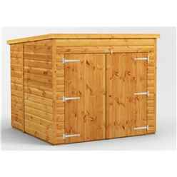 6ft x 6ft  Premium Tongue and Groove Pent Bike Shed - 12mm Tongue and Groove Floor and Roof