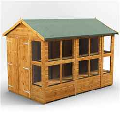 12ft x 6ft Premium Tongue and Groove Apex Potting Shed - Double Doors - 16 Windows - 12mm Tongue and Groove Floor and Roof