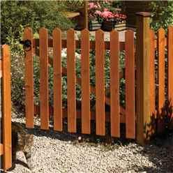 6 x 4 Picket Fence Panel Dip Treated - Minimum Order of 3 Panels