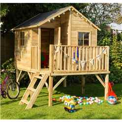 7.6ft x 6.6ft Hide Out Playhouse (2.30m X 2.01m)
