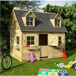 6ft x 8.6ft Cottage Playhouse (1.85m X 2.63m)