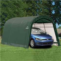 10 x 15 Round Top Auto Shelter