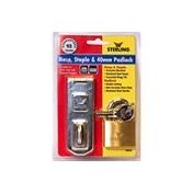 Brass Double Locking Padlock